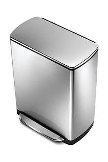 SIMPLE HUMAN Rectangular pedal bin 50L