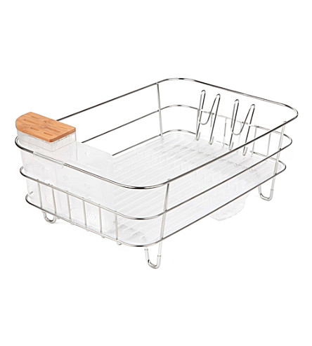 SIMPLE HUMAN Slim stainless steel dishrack