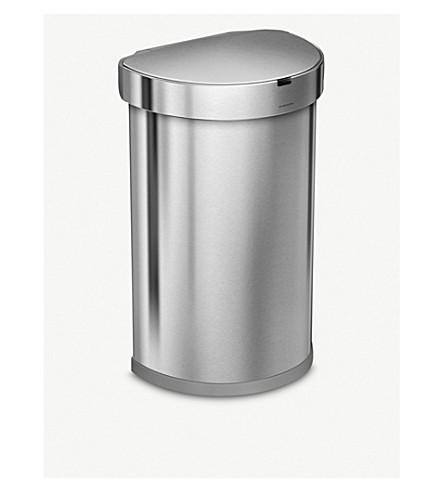 SIMPLE HUMAN 半圆不锈钢传感器纸盒45L