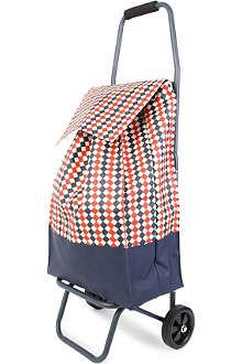 PERIGOT Damier vintage market trolley