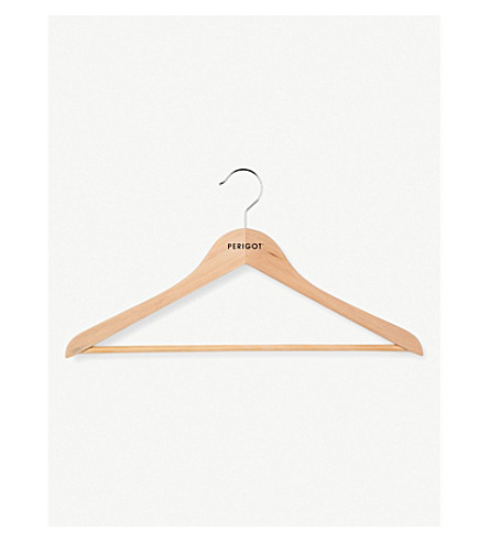 PERIGOT Basic natural wood hanger