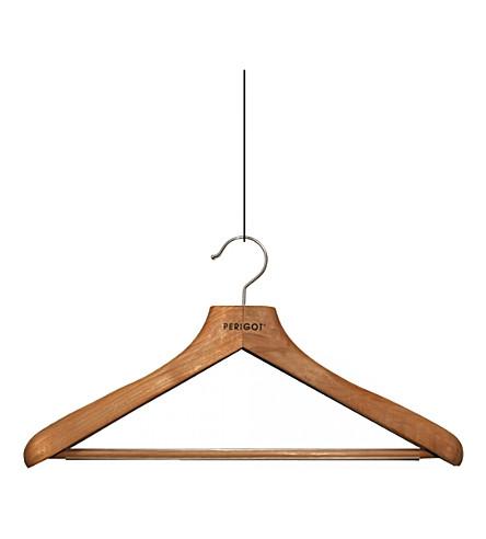 PERIGOT Womens wooden hanger