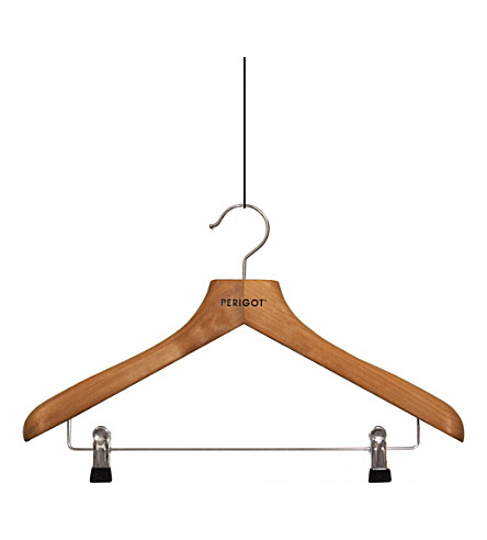 PERIGOT Clipped wooden hanger
