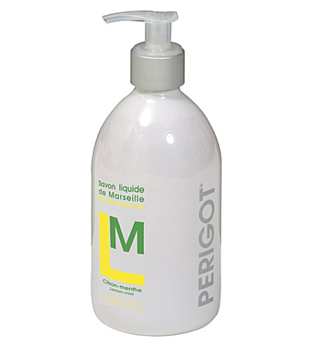 PERIGOT Lemon and mint liquid soap 500ml
