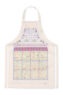 STUART GARDINER Seasonal guide to British fruit and vegetables apron