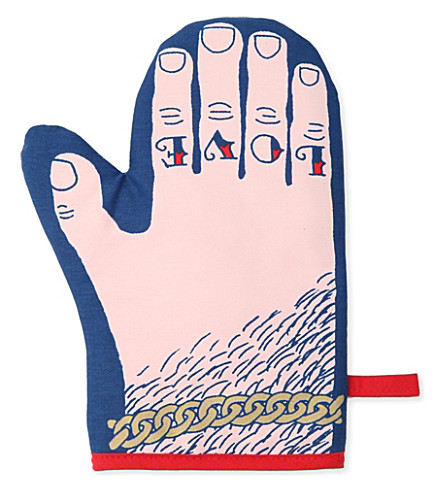 STUART GARDINER 'Glove and Hate' oven mitt