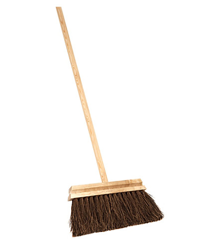 IRIS HANTVERK Long handled birch and bassine broom
