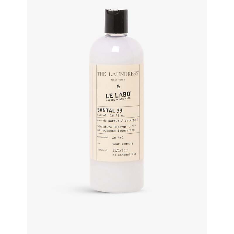 THE LAUNDRESS | The Laundress Le Labo Santal 33 Scented Detergent 475ml | Goxip
