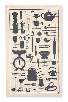 VICTORIA EGGS Airfix London tea towel