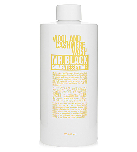 MR BLACK Garment Essentials wool and cashmere laundry detergent 500ml