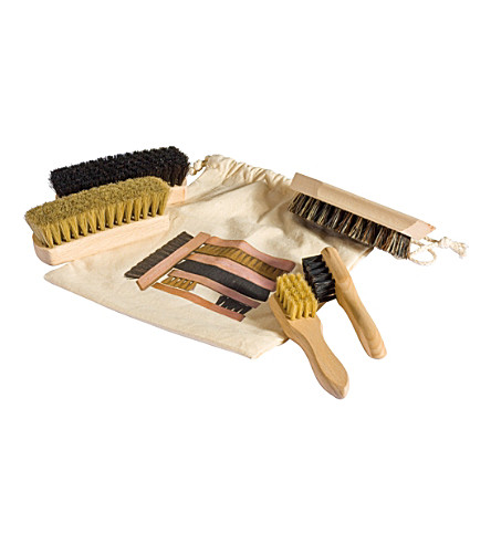 REDECKER Shoe shine kit