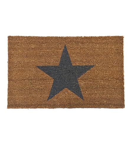 GARDEN TRADING Star small coir doormat 65x40cm