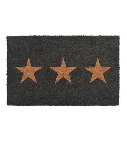 GARDEN TRADING Stars small coir doormat 65x40cm