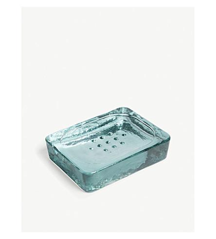 GARDEN TRADING Glass soap dish 12cm