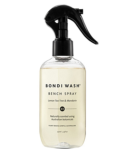 BONDI WASH Lemon & mandarin bench spray 250ml