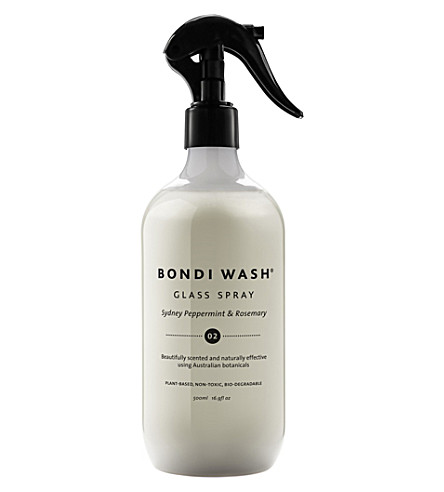 BONDI WASH Peppermint and rosemary glass spray 500ml