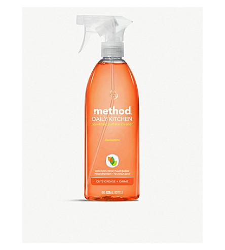 METHOD Clementine all-purpose kitchen cleaning spray 828ml