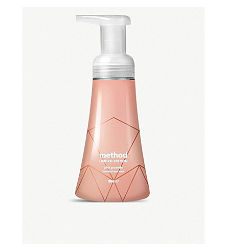 METHOD Rose gold limited edition foaming hand wash pink pomelo 300ml
