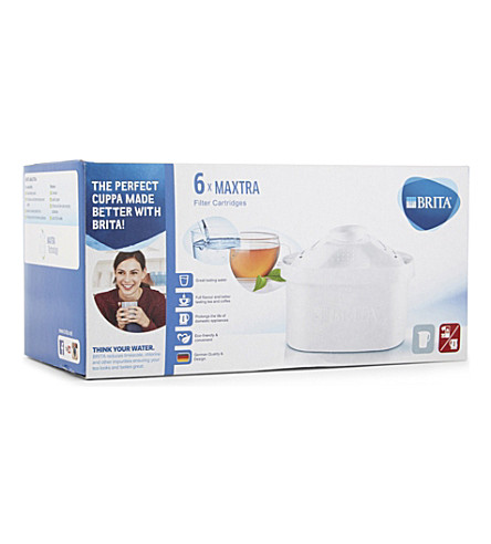 BRITA Maxtra pack of six filter cartridges