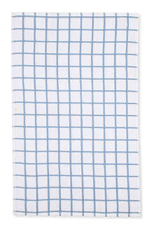 LE CHATEAU Large check terry tea towel