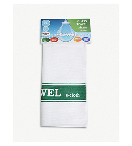 E-CLOTH Striped e-towel