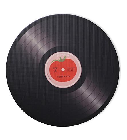 JOSEPH JOSEPH Tomato vinyl record worktop saver 30cm