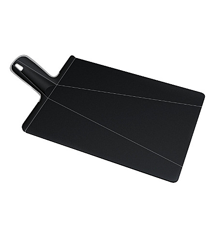 JOSEPH JOSEPH Chop2Pot Plus large chopping board (Black
