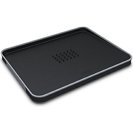 JOSEPH JOSEPH Cut&Carve Plus chopping board (Black