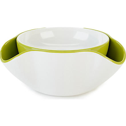 JOSEPH JOSEPH Double dish (White/green