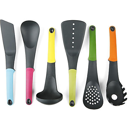 JOSEPH JOSEPH Elevate six-piece kitchen tools set (Multi-coloured