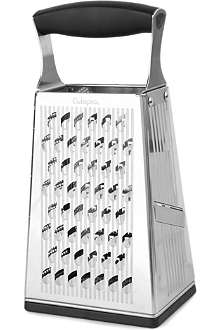 CUISIPRO Stainless steel box grater