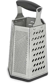 SILICONEZONE 6-sided box grater
