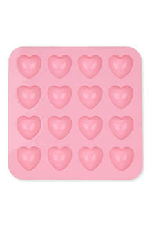 SILICONEZONE Hearts ice and chocolate mould