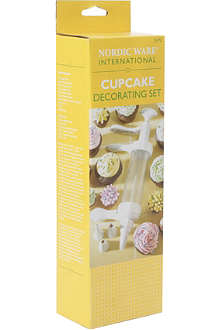 NORDICWARE Cupcake decorating set