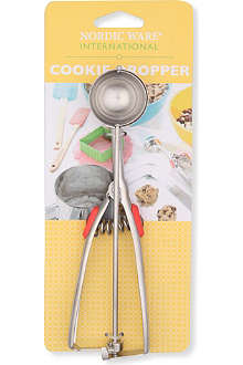 NORDICWARE Stainless steel and silicone cookie dropper