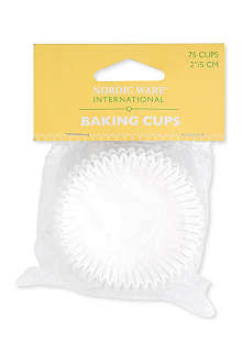 NORDICWARE Pack of 75 paper baking cups