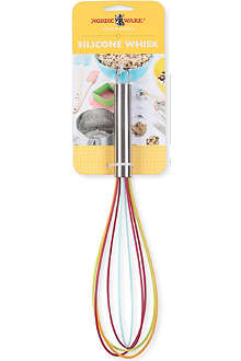 NORDICWARE Silicone and stainless steel whisk