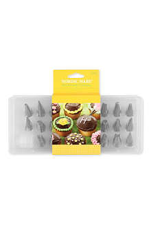 NORDICWARE Stainless steel 26-piece decorating tip kit