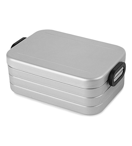 ROSTI Take a break silver lunchbox