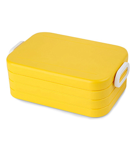 ROSTI Take a break yellow lunchbox