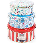HOPE AND GREENWOOD Cake tins set of three
