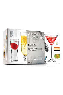 MOLECULE-R Cocktail R-Evolution molecular mixology starter kit