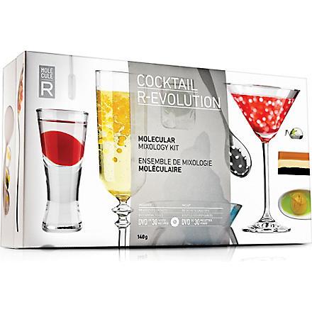 MOLECULE-R Cocktail R-Evolution molecular mixology starter kit