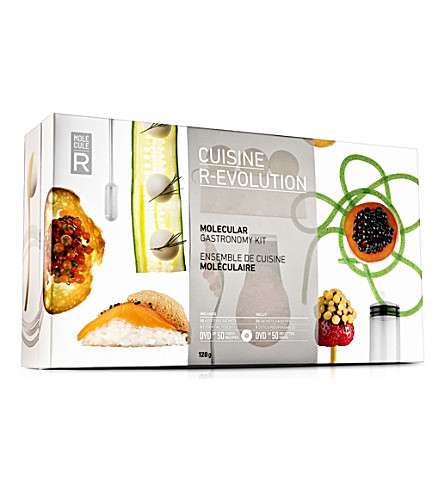 MOLECULE-R Cuisine R-Evolution molecular gastronomy starter kit
