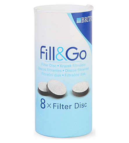 BRITA Fill&Go Filter Discs 8-pack