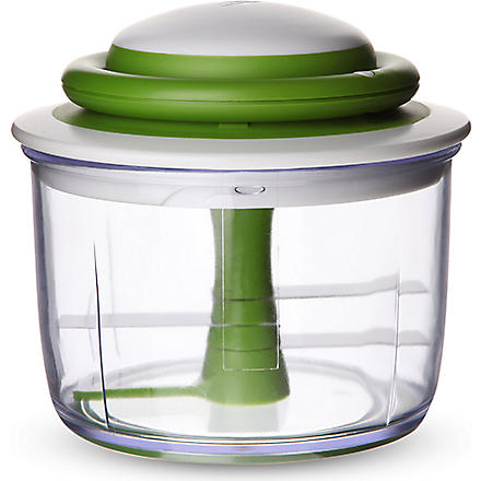 CHEF'N VeggiChop manual food processor