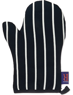 DEXAM Butcher's striped oven mitt