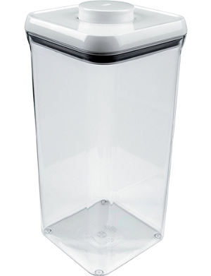 GOOD GRIPS POP tall square container 5.2L