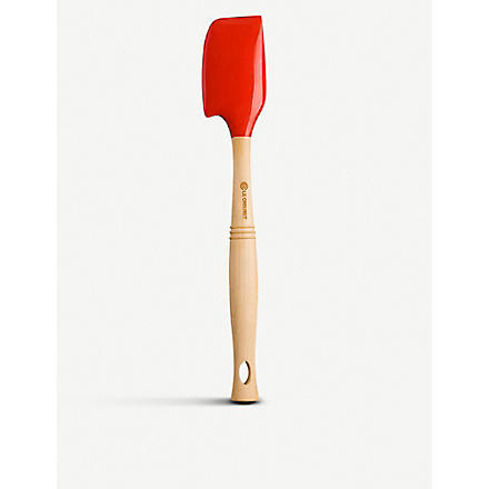 LE CREUSET Professional medium spatula (Cerise