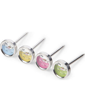 ROSLE Steak and meat thermometer four pack